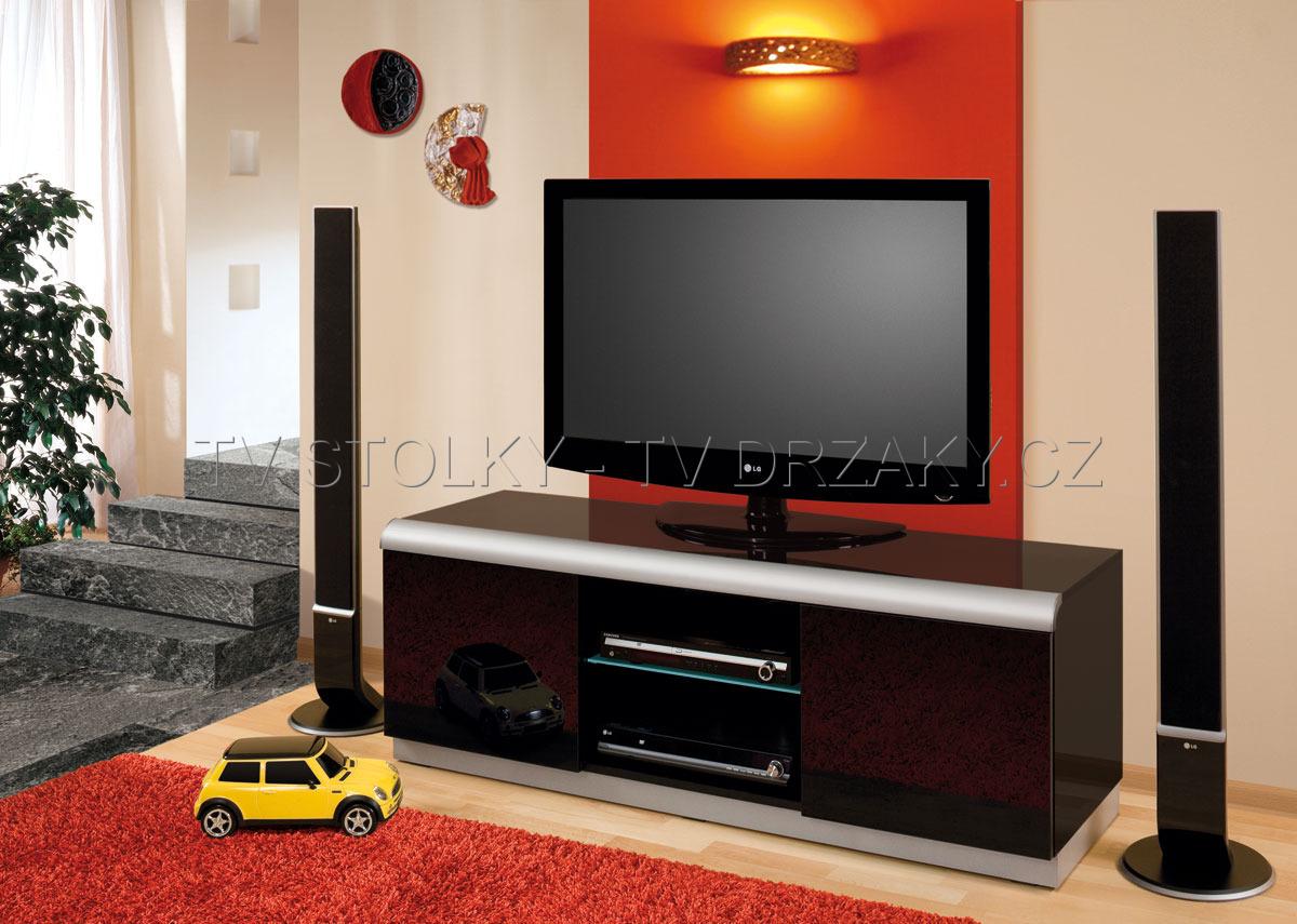 TV stolek DENVER 2 (černý)