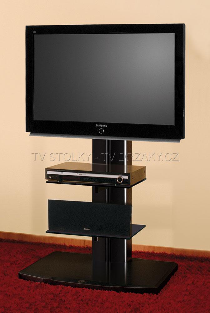 Televizní stojan - ALLADYN Black