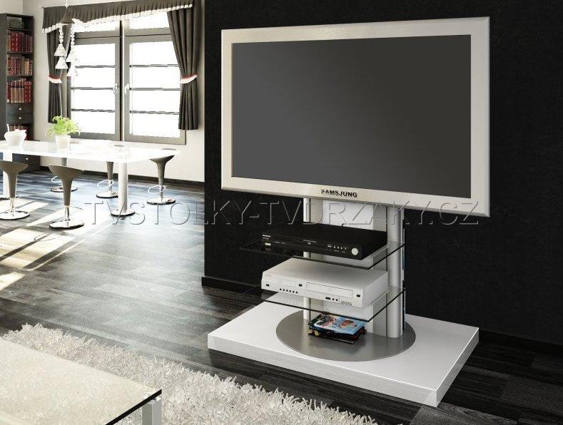 Televizní stojan Roma WHITE