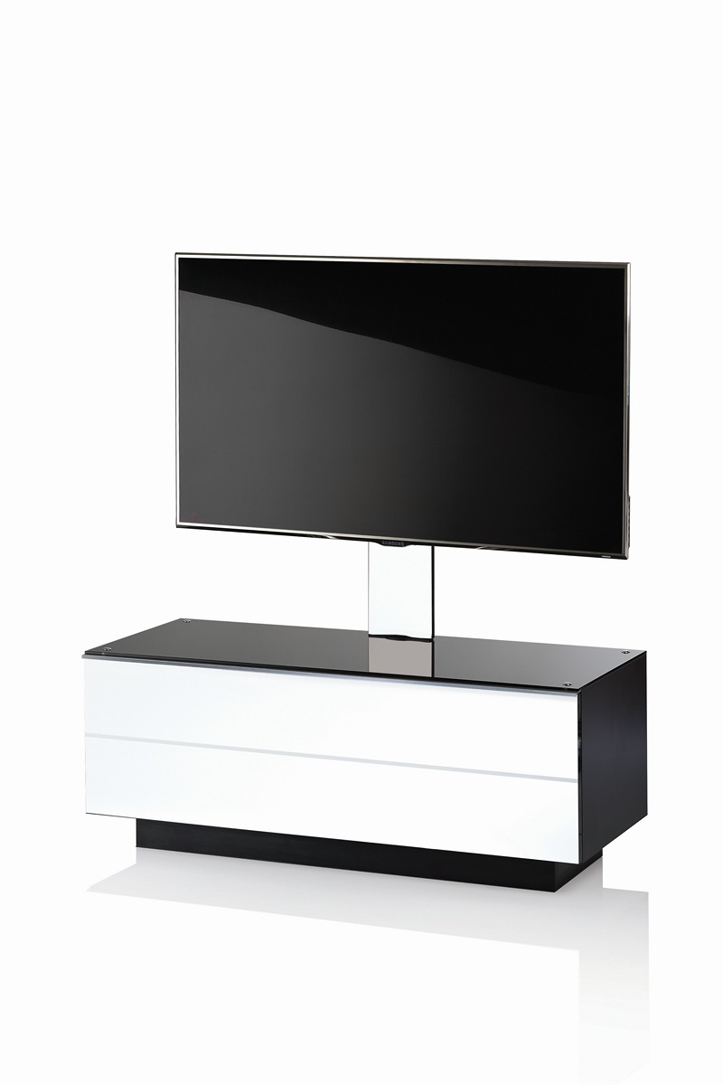 TV stolek ULTIMATE GMS 110 B (bílý)