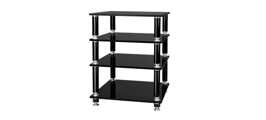 Hifi stolek STABBL HIFI (černý)