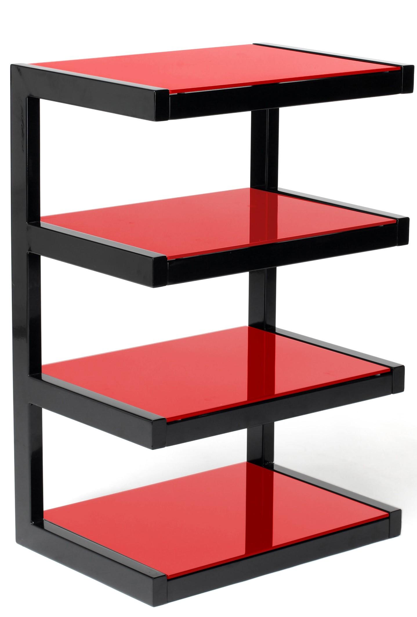 Hifi stolek NORSTONE ESSE HIFI (červený)