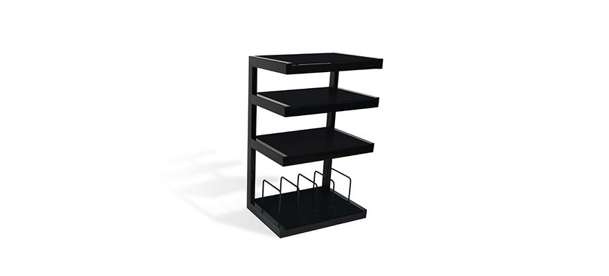 Hifi stolek NORSTONE ESSE HIFI VINYL (černý)