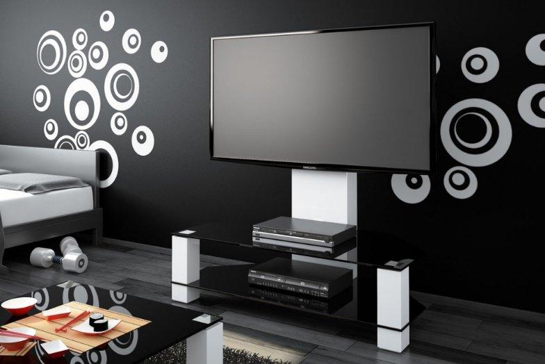 TV stolek Hubertus LUGANO White