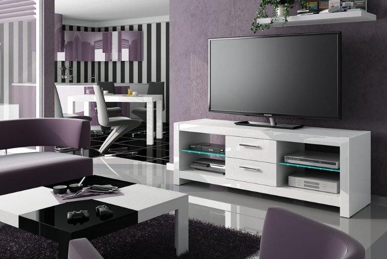 TV stolek ANDORA White + (další barvy k výběru)