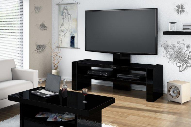 Televizní stolek DAVOS Black + (další barvy k výběru)