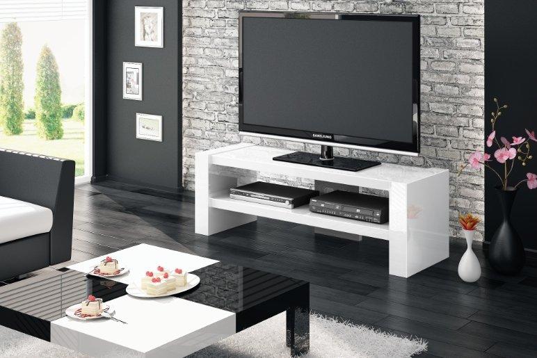 Televizní stolek DAVOS 2 White + (další výběr barev)