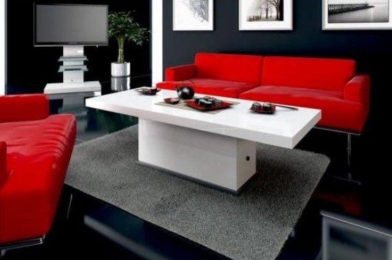 Konferenční stolek Matera (výběr barev)