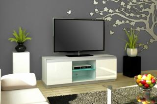 TV stolek  DENVER 2 WHITE